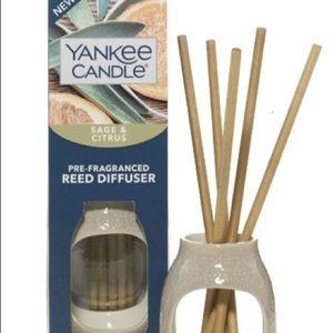 Yankee Candle Pre-Fragranced Sage & Citr